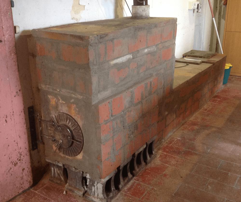 Enjoy winter costruzione stufa ad accumulo lowtech - Stufa elettrica che consuma poco ...